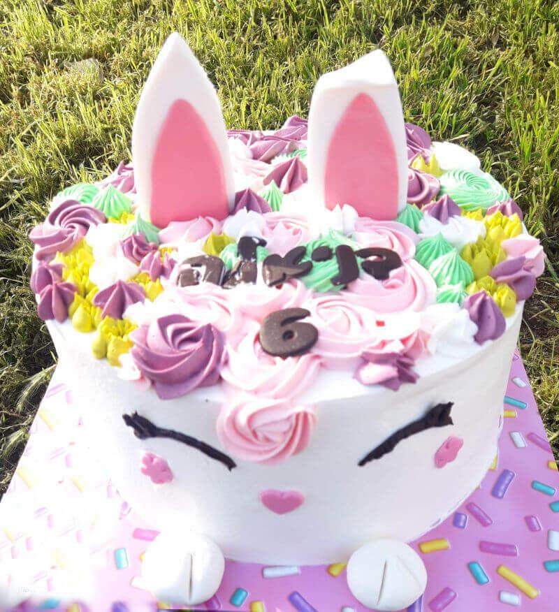 עוגת ארנב מעוצבת