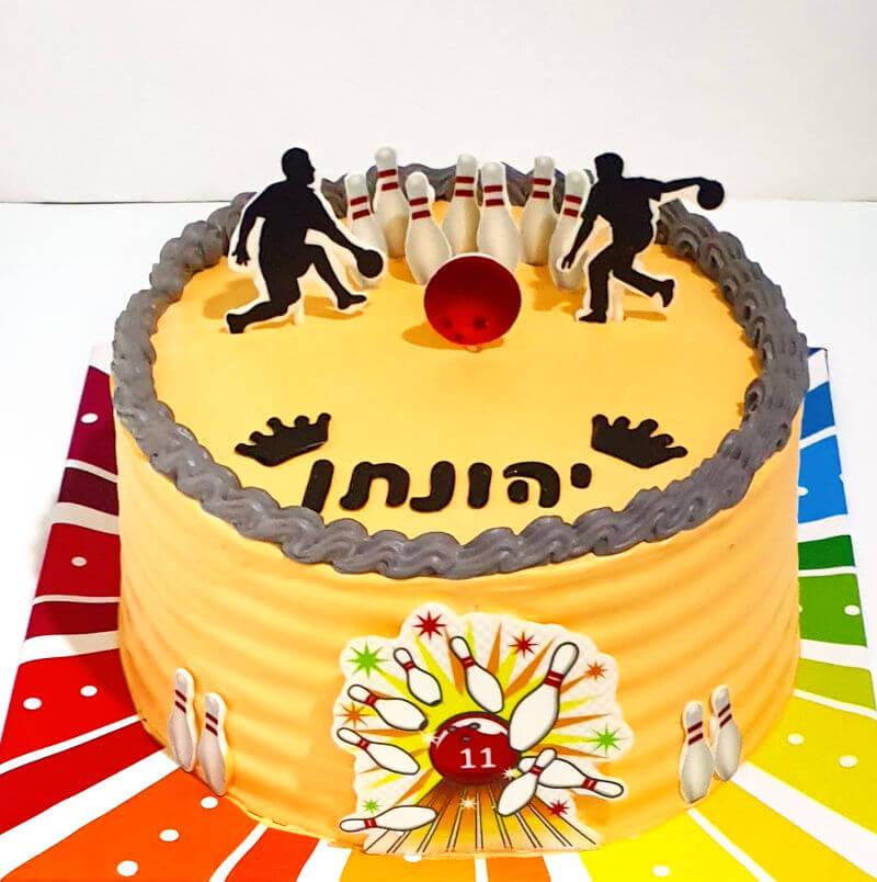 עוגת בראולינג מעוצבת