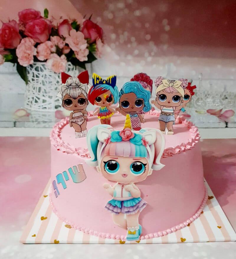 עוגת בובות LOL