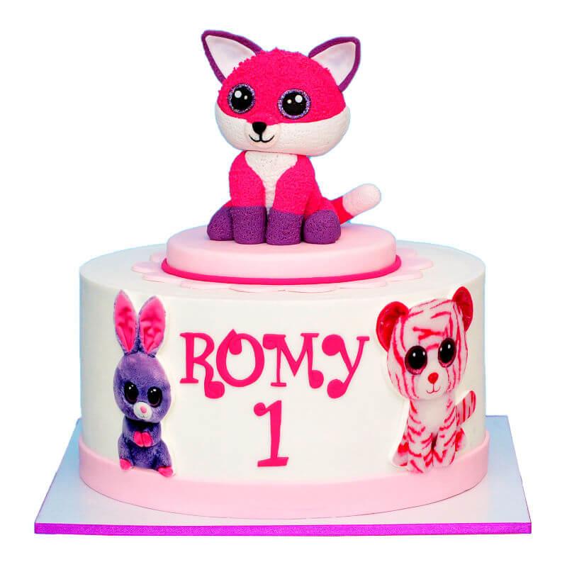 עוגת בובות של TY