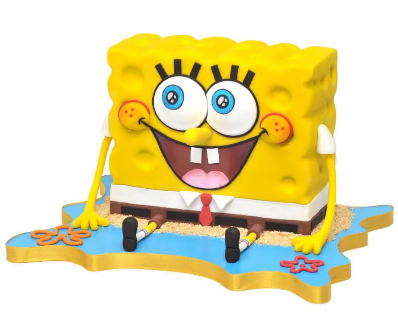 עוגת בוב ספוג מיוחדת