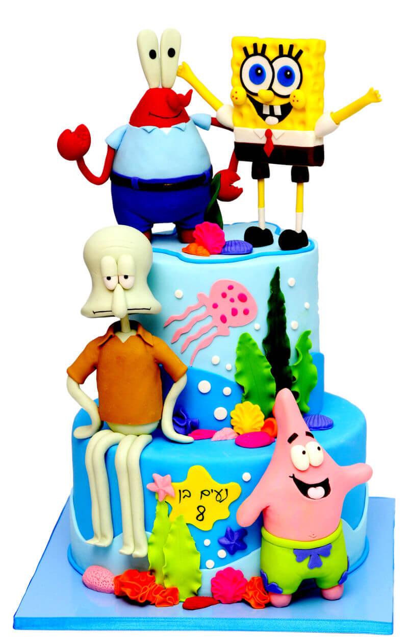 עוגת בוב ספוג