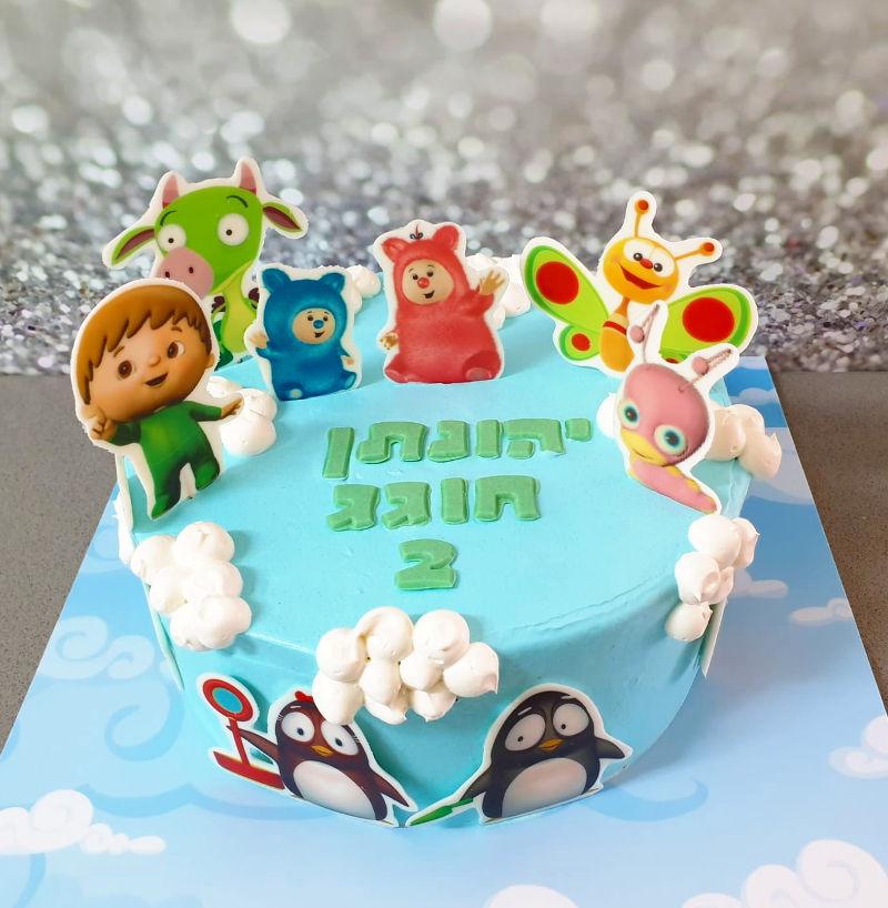 עוגת בייבי ליום הולדת