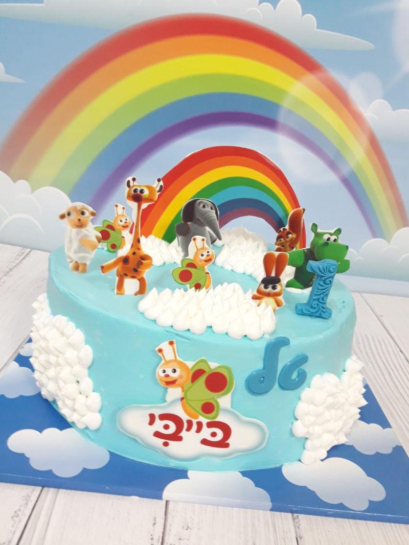 עוגת בייבי לגיל שנה