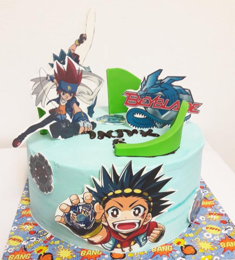 עוגת בייבלייד ליום הולדת