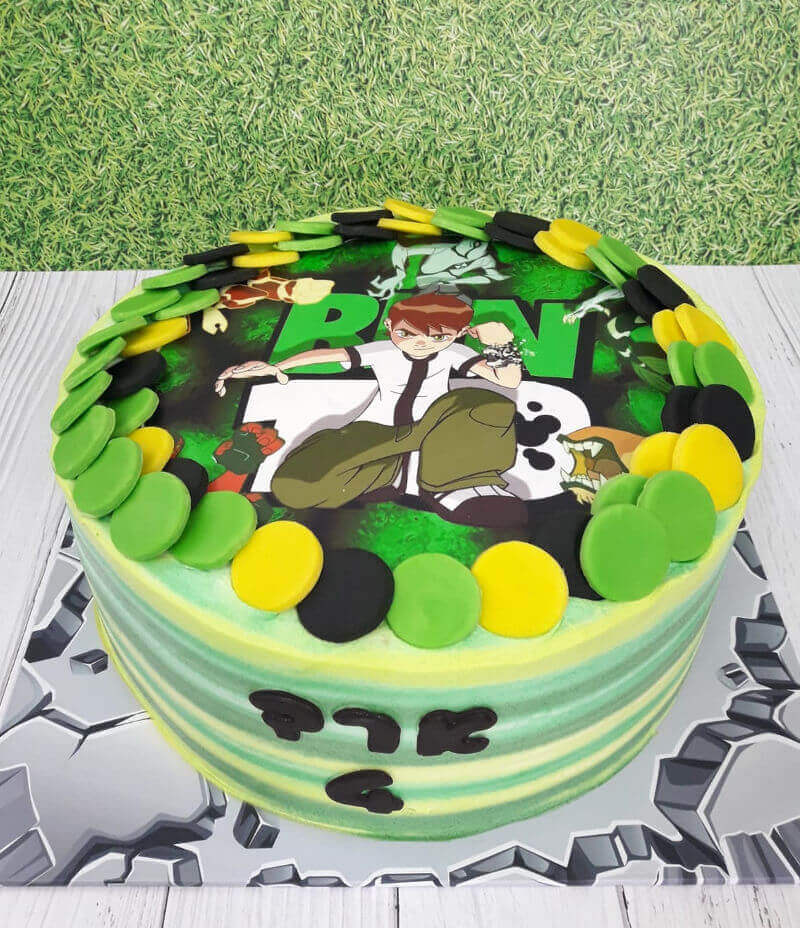 עוגת בן 10 - BEN10