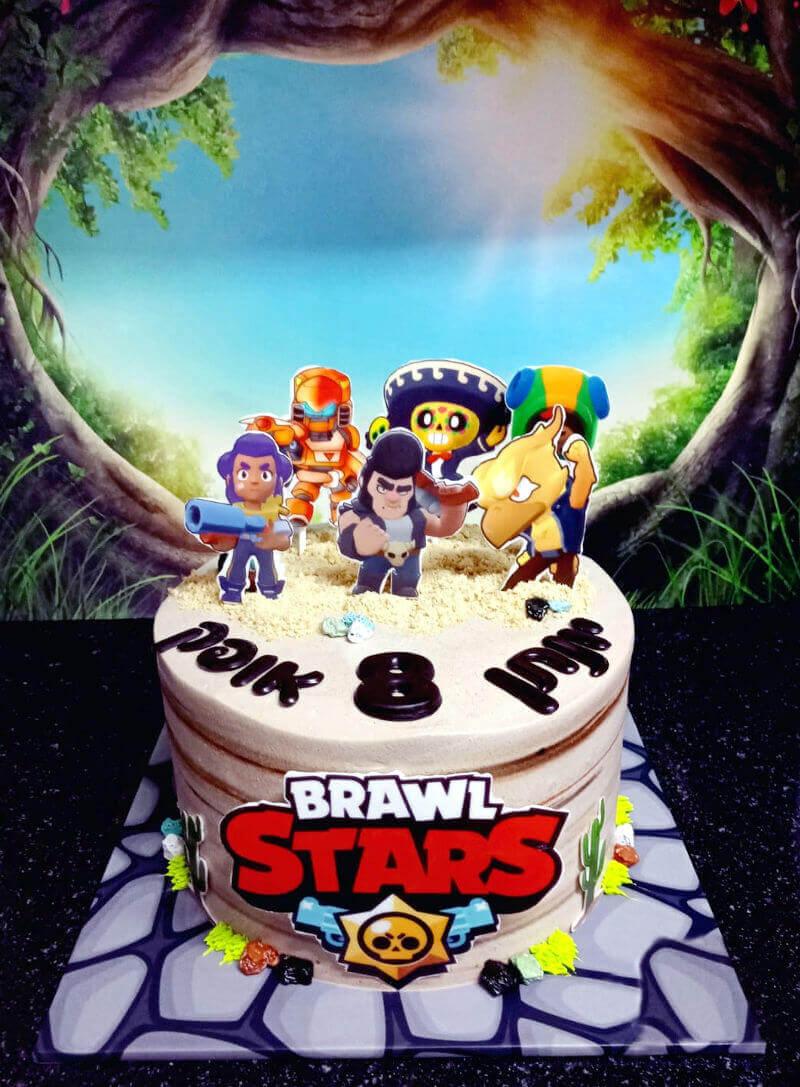 עוגת בראול סטארס