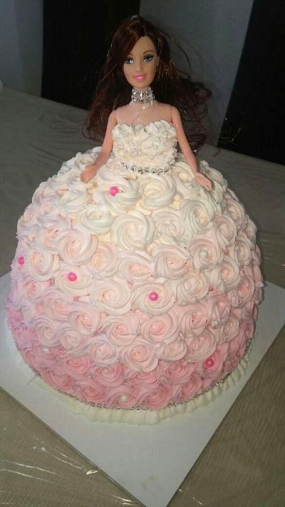 עוגת יום הולדת ברבי