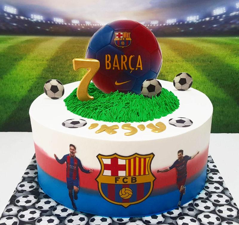 עוגת ברצלונה בכדורגל