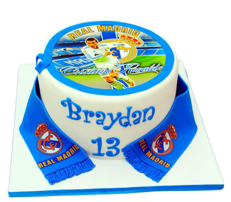 עוגת בר מצווה כדורגל רונאלדו