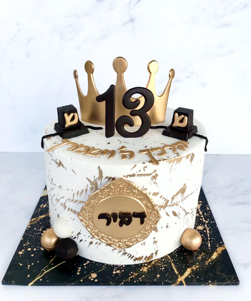 עוגת בר מצווה מעוצבת