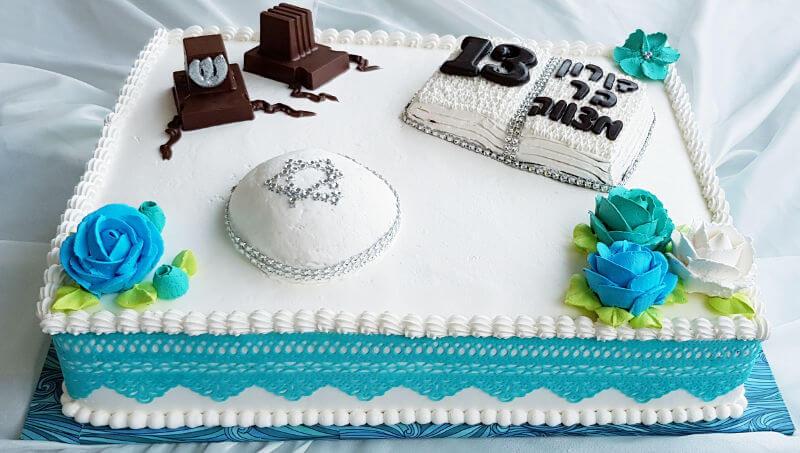 עוגת בר-מצווה מעוצבת