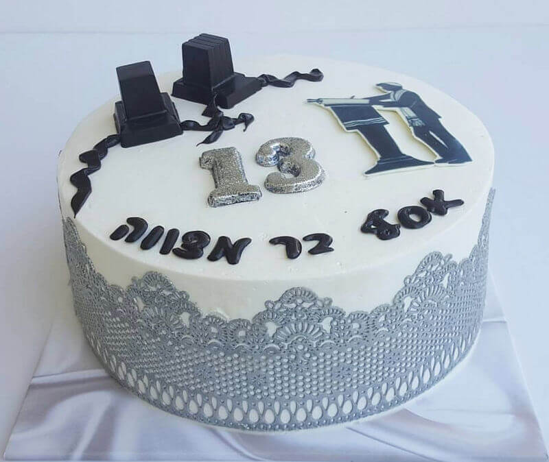 עוגת בר מצווה תפילין