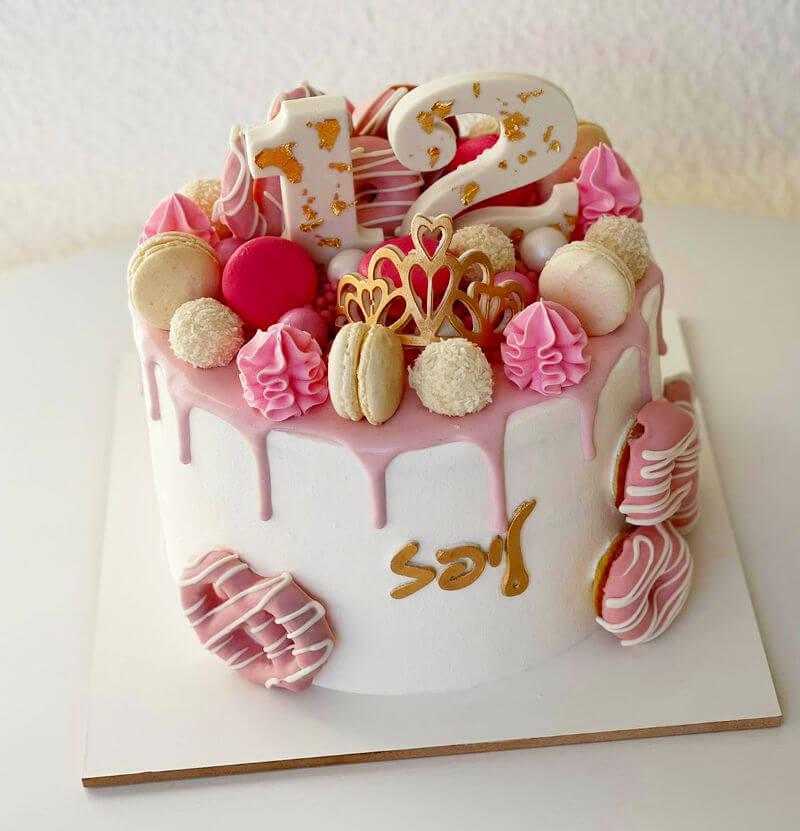 עוגת בת מצווה פרווה