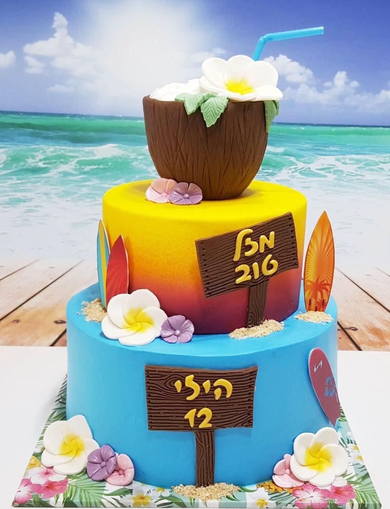 עוגת בת מצווה מיוחדת
