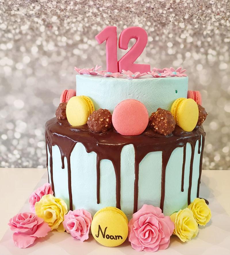עוגות קומות מעוצבת לבת מצווה