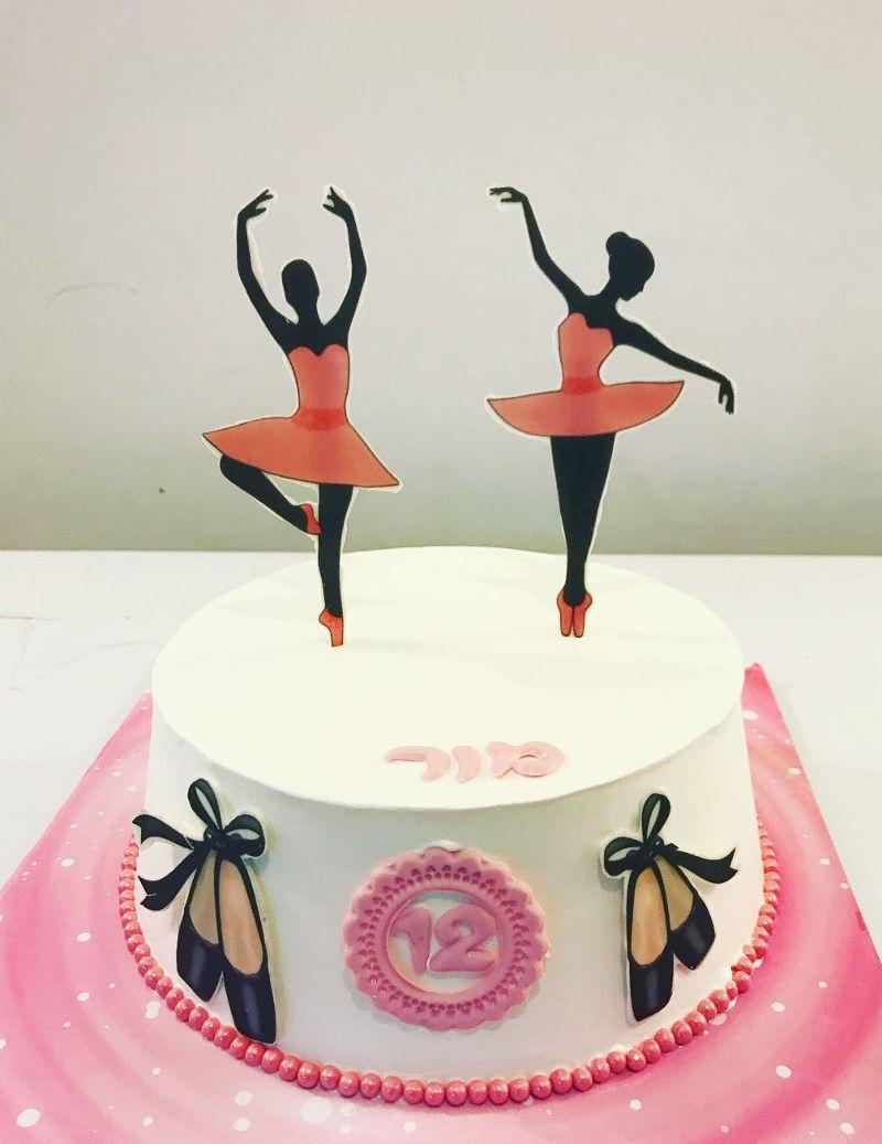 עוגת רקדניות בלט