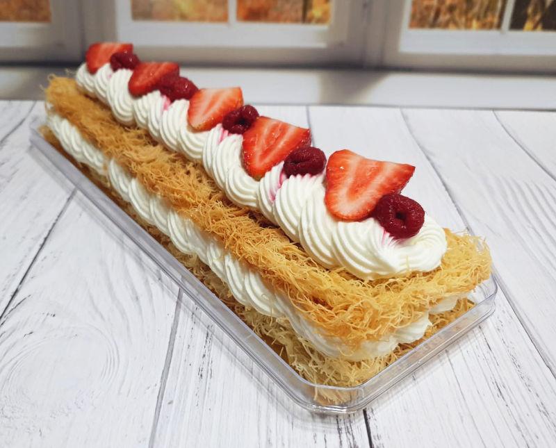 עוגת גבינה קדאיף
