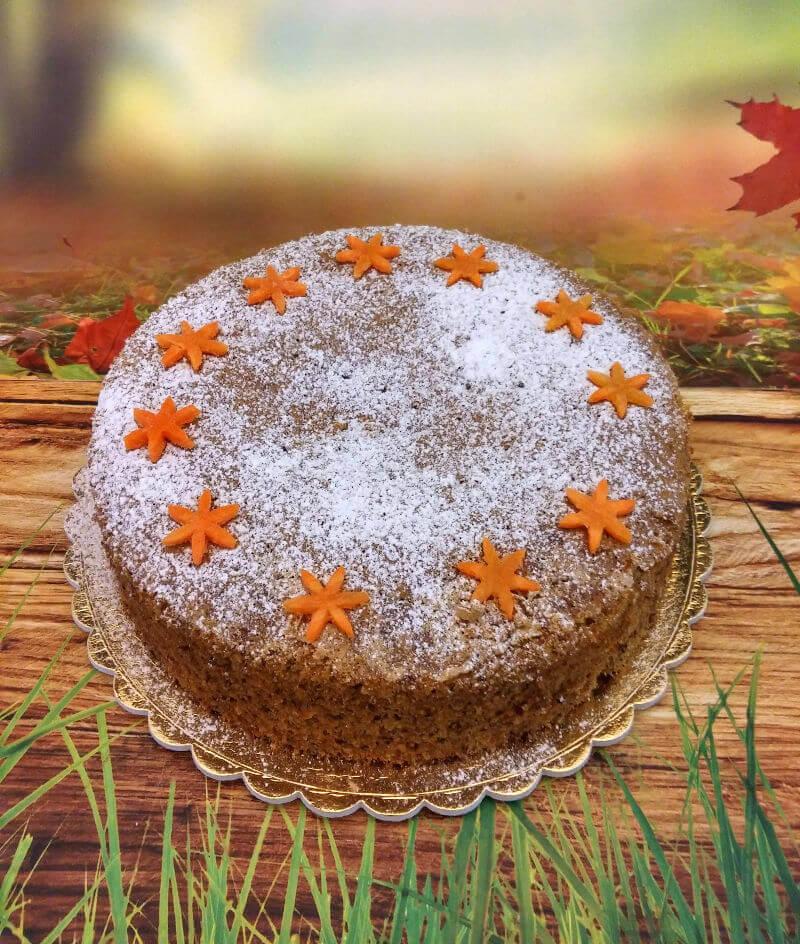 עוגת גזר בחושה