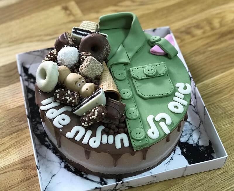 עוגת גיוס מעוצבת
