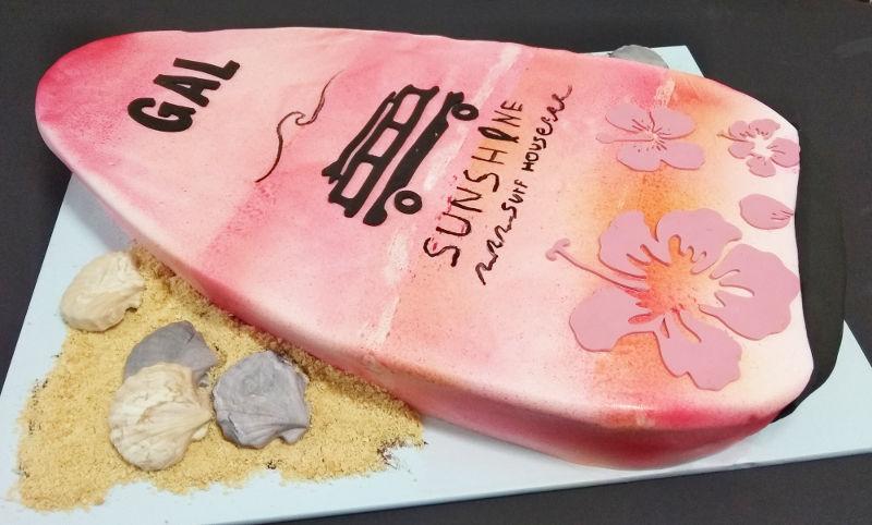 עוגת גלשן מבצק סוכר