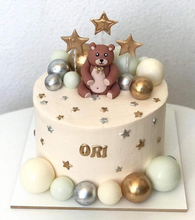 עוגת דובי מעוצבת