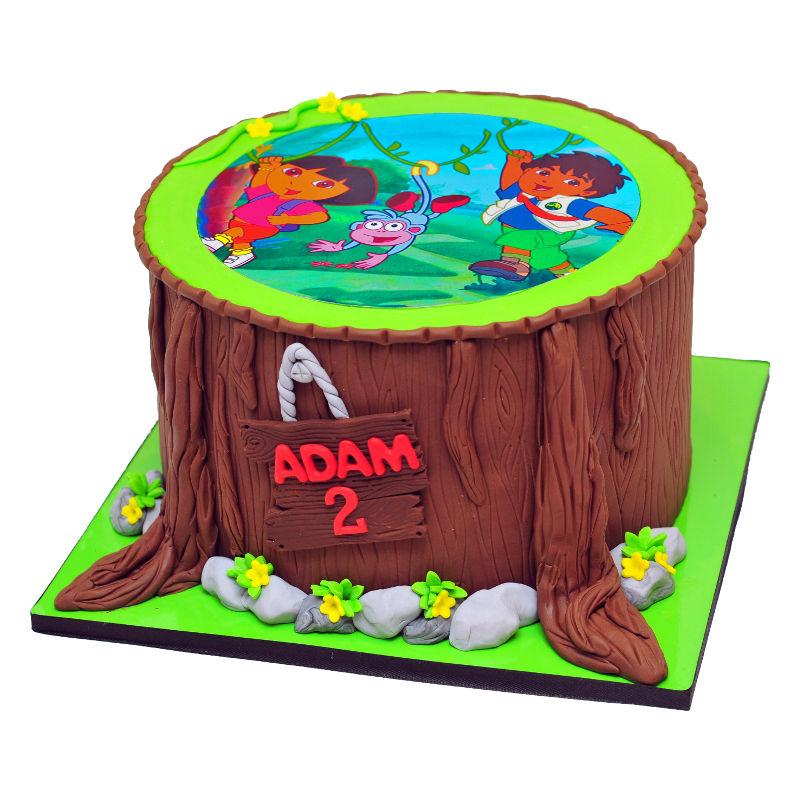 עוגת דורה ודייגו