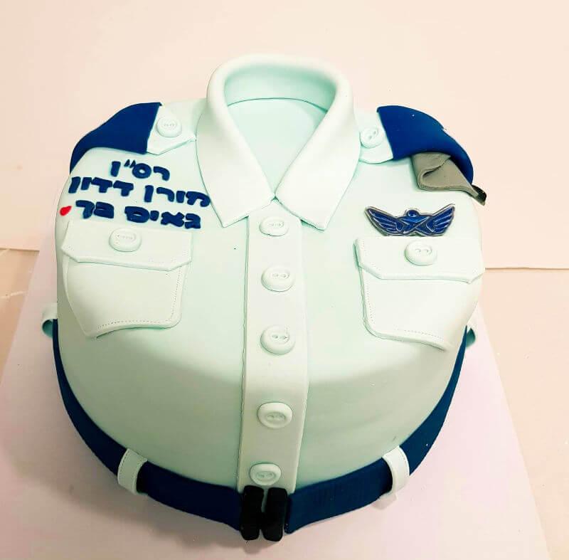 עוגת דרגה לפני שחרור מהצבא