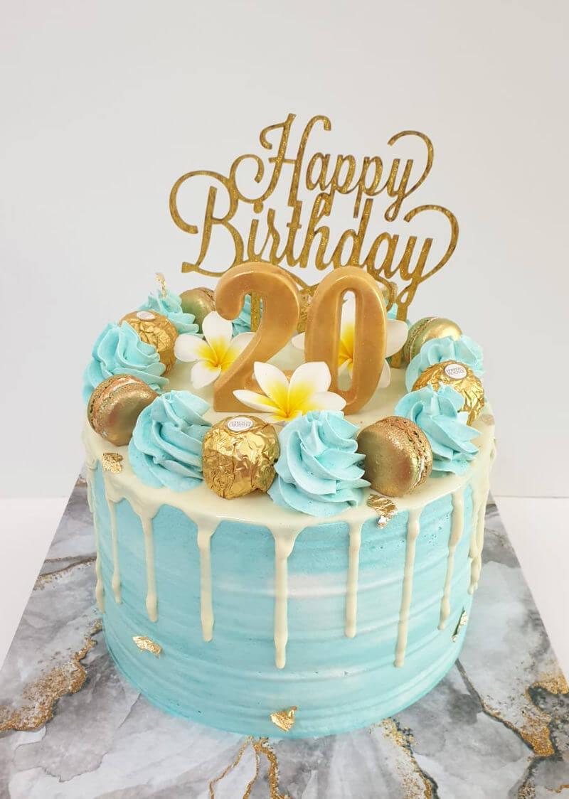עוגת דריפ קייק פרווה מושלמת