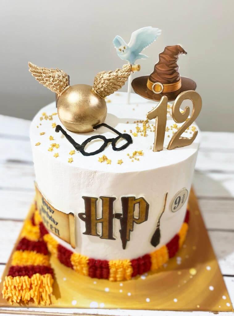 עוגת הארי פוטר מעוצבת