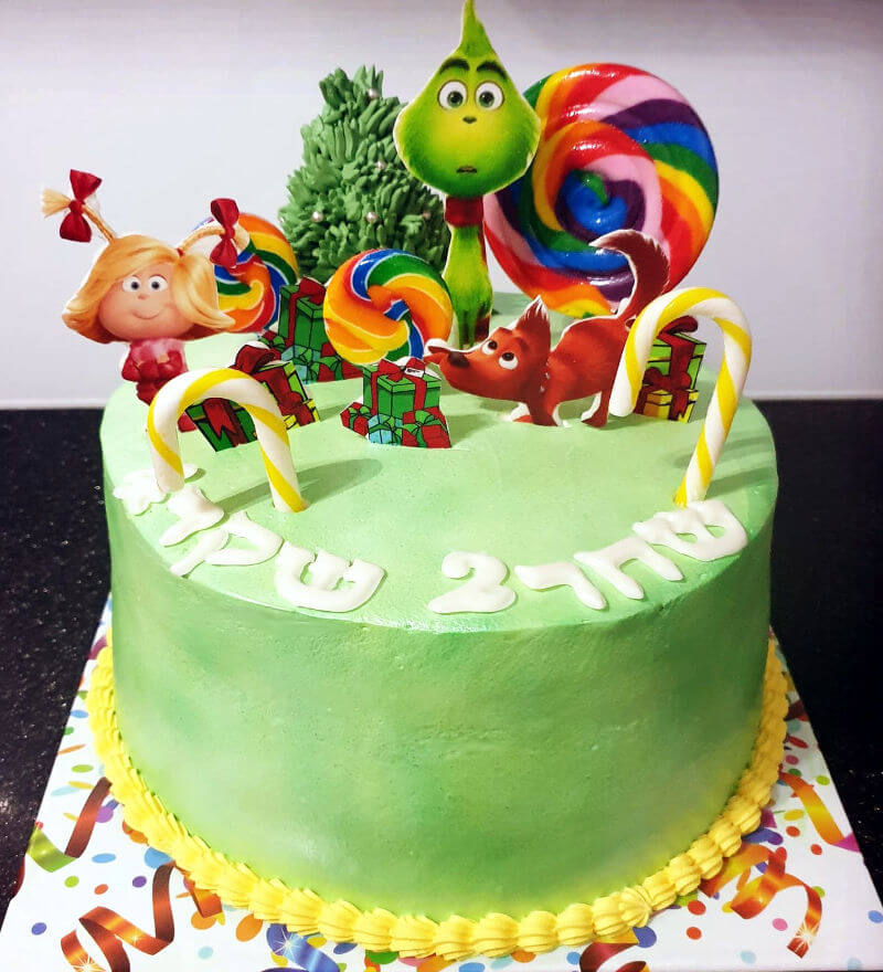 עוגת הגרינץ לילדים