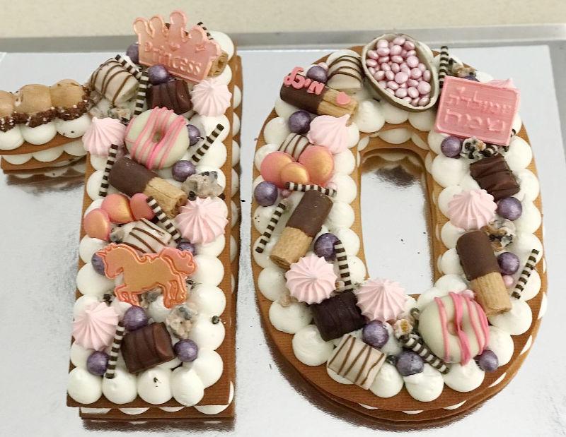 עוגת המספרים 10