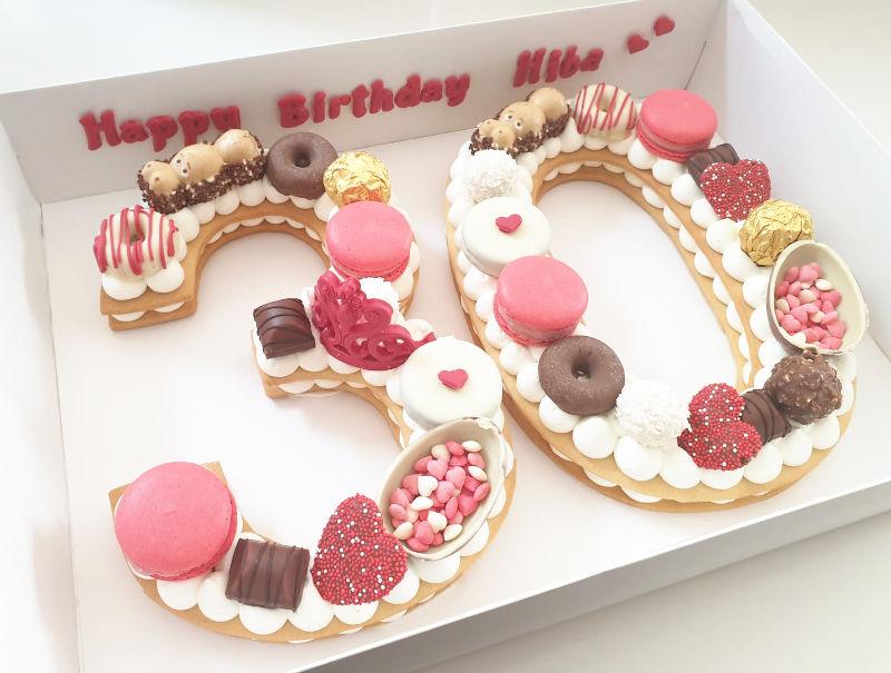 עוגת המספרים 30