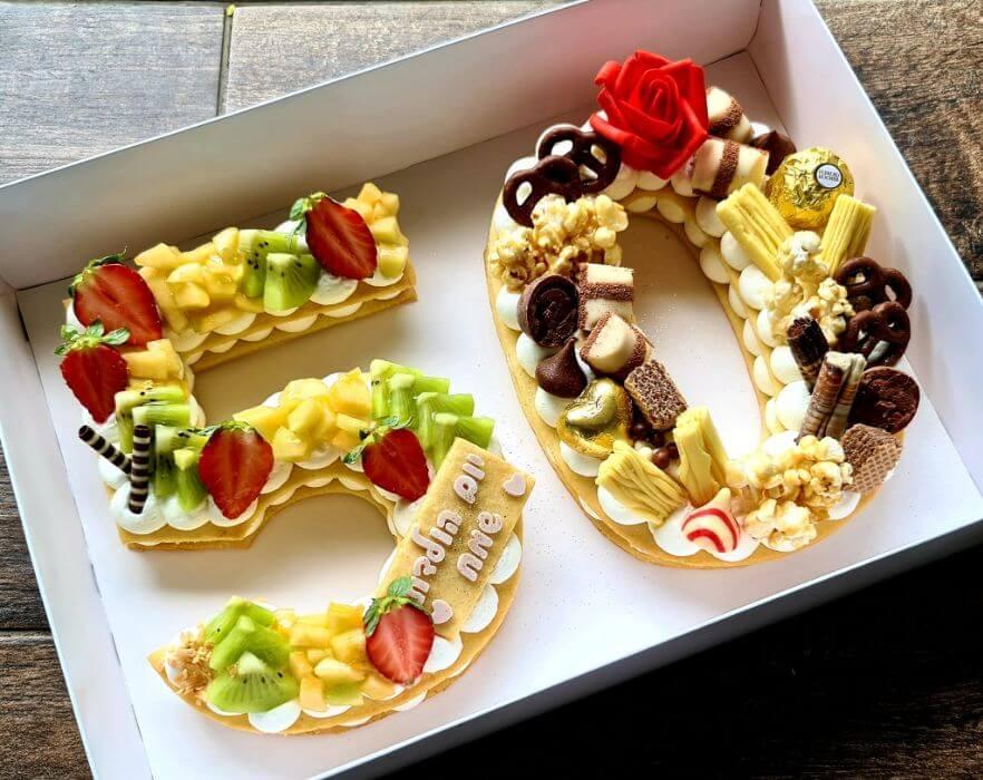 עוגת מוס 50