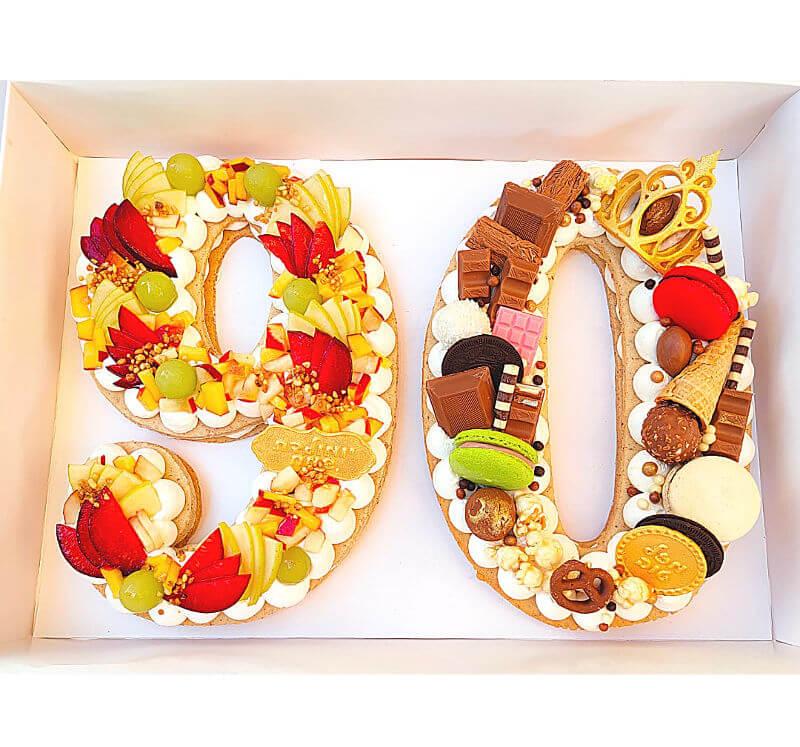 עוגת המספרים 90