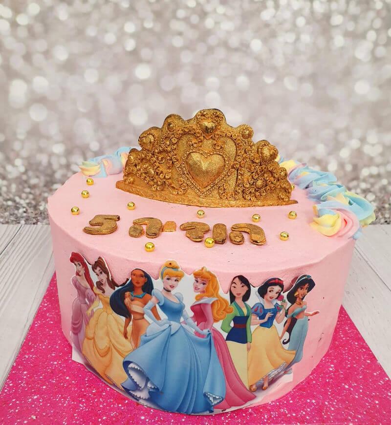 עוגת הנסיכות של דיסני