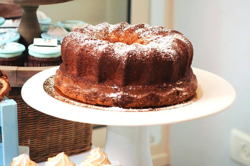 עוגה בחושה וניל