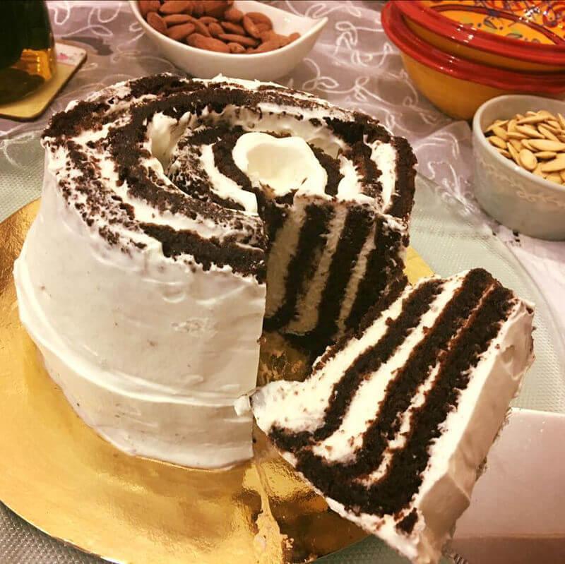 עוגת זברה לפסח