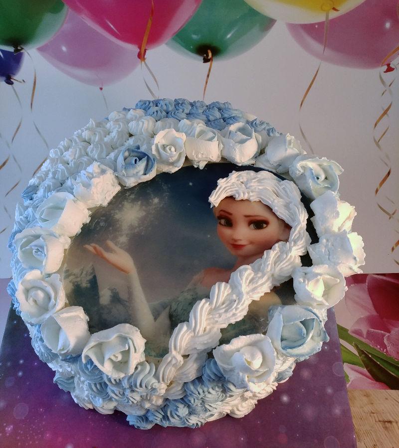 עוגת זילוף אלזה