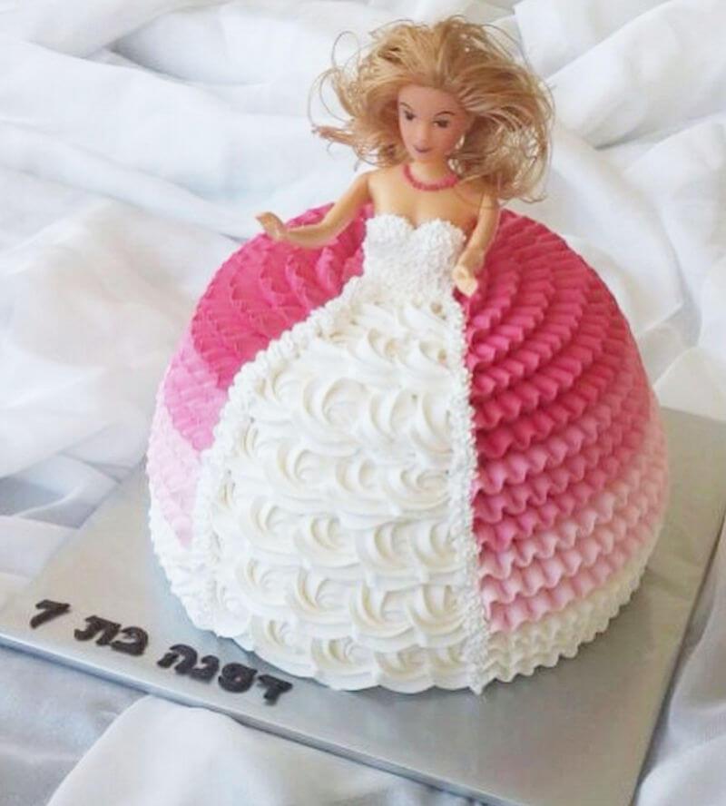 עוגת זילוף ברבי