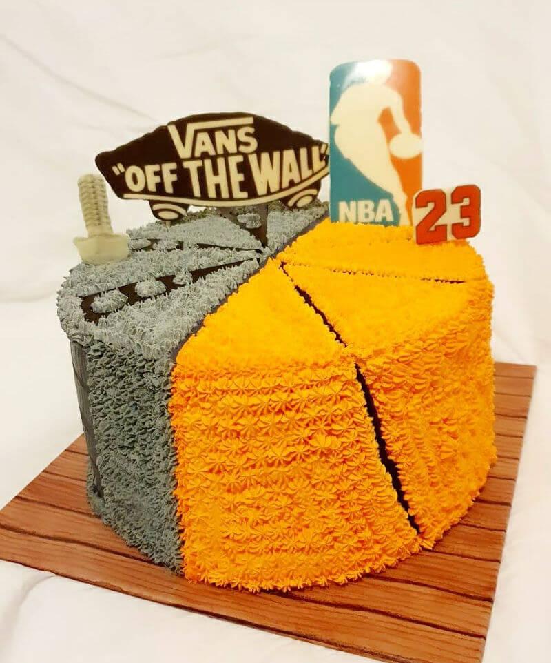 עוגת זילוף כדורסל