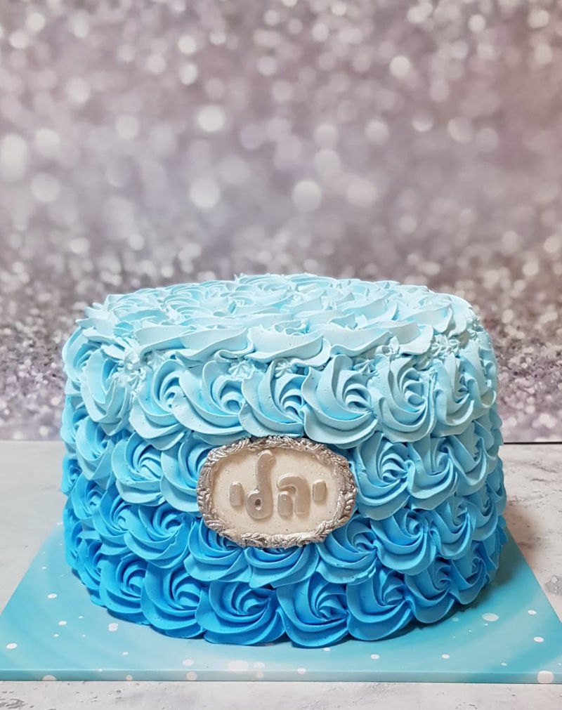 עוגת זילוף לבן
