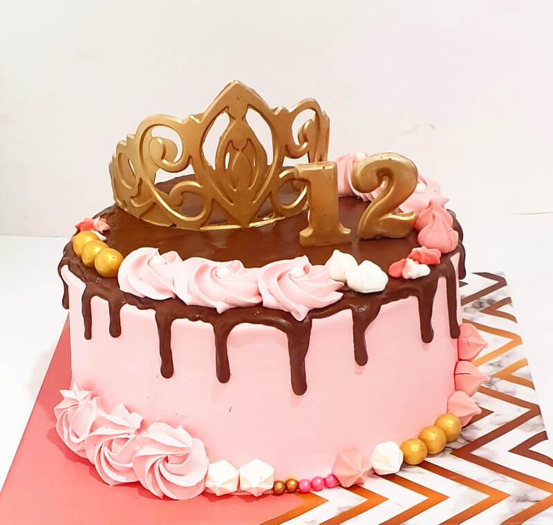 עוגת זילוף לבת מצווה