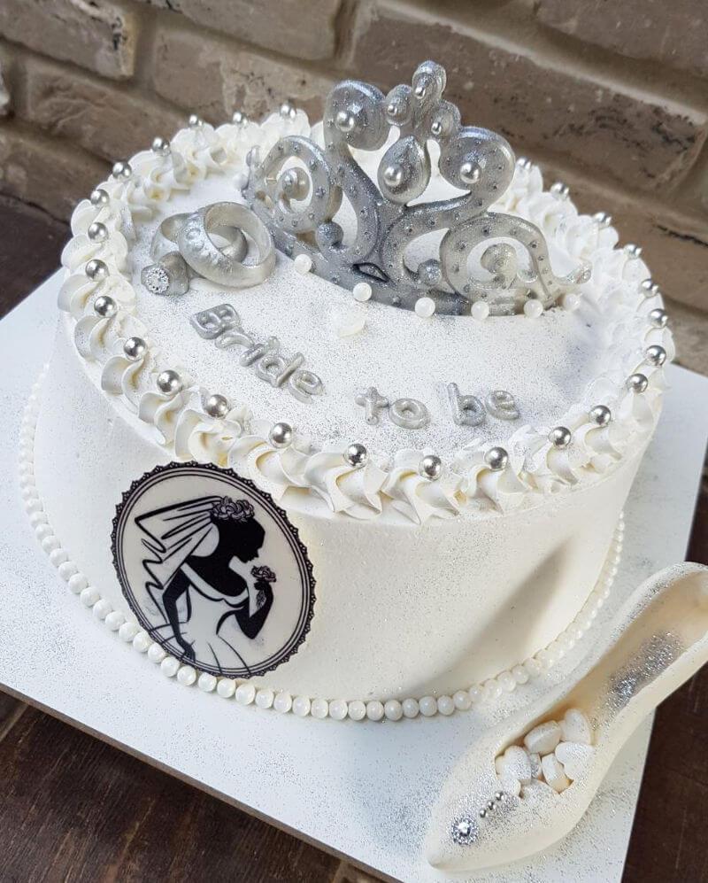 עוגת זילוף למסיבת רווקות