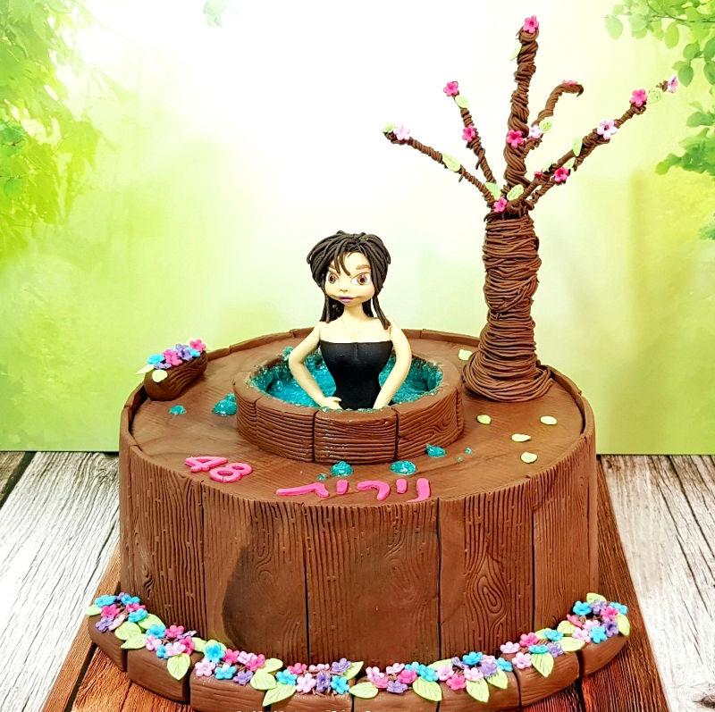 עוגת זילוף מיוחדת ליום הולדת