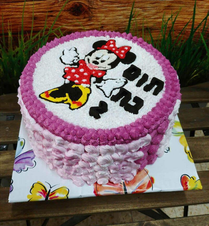 עוגת זילוף מיני מאוס