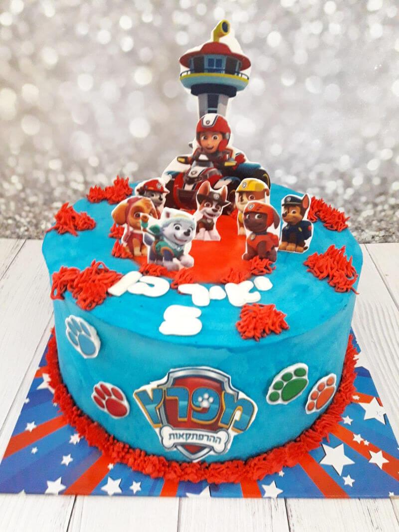 עוגת זילוף צוות החילוץ
