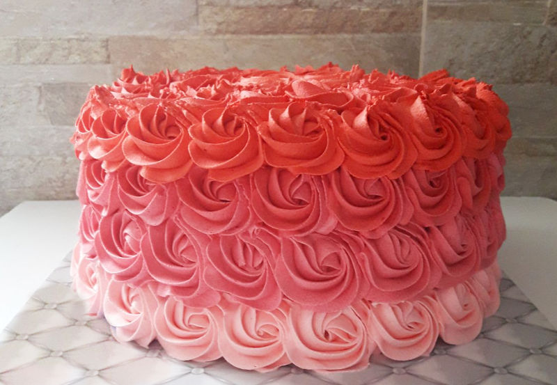 עוגת זילוף קלאסית