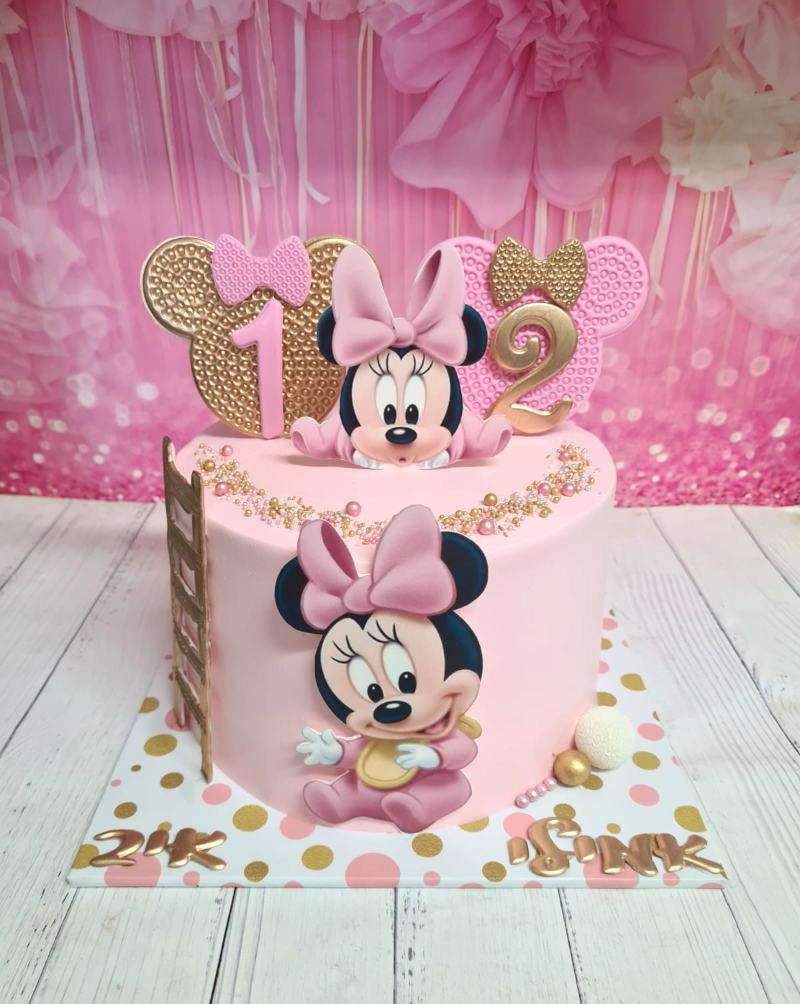 עוגת זילוף של מיני מאוס