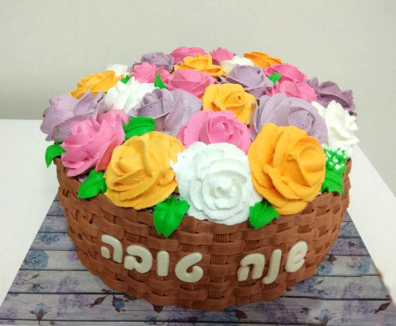עוגת זילוף לראש השנה